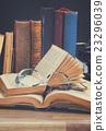 Books and typewriter 23296039