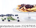 Blueberry Pancakes Dessert 23297935