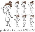 護士的女人:姿勢變化 23298677
