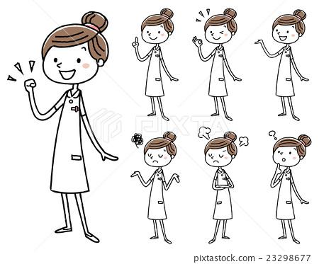 护士 女生 女孩 23298677