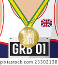 Top Medal Winner 2016 Sport Competition Concept. 23302138