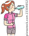 女性 防暑 锻炼 23304652