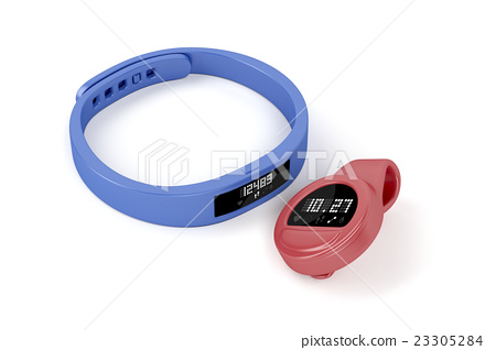 Wristband and clip-on activity trackers 23305284