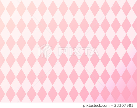 Pink Diamond Pattern Background Vector Stock