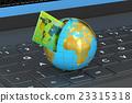 卡片 地球仪 球体 23315318