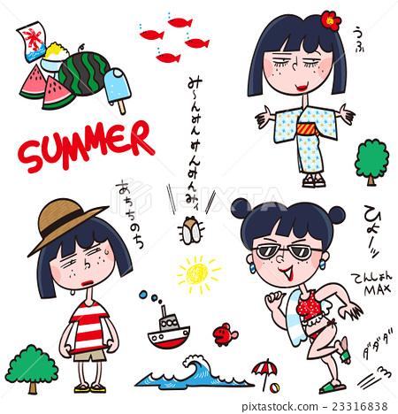 夏天 夏 成熟的女人 23316838