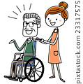 护理 老人 看护 23317575