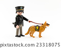 police, police officer, police dog 23318075