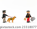 police, police officer, police dog 23318077