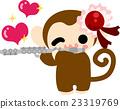 벡터, 원숭이, 몽키 23319769