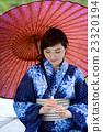 유카타 여성 일본인 인물 23320194