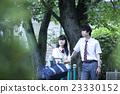 肖像 公园 异性夫妇 23330152