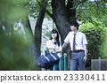 肖像 公园 异性夫妇 23330411