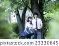 肖像 公园 异性夫妇 23330645