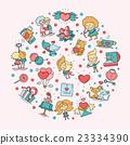 vector, heart, cupid 23334390