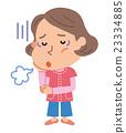 Menopausal depression illustration 23334885