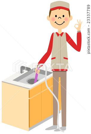 집 청소 배수구 청소 23337789