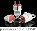 Various electric plugs 23339585