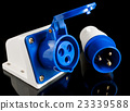 Electric power plug with socket 23339588