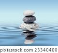 Zen stones balance concept 23340400