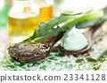 Aloe skin care products. 23341128