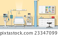 Illustration an intensive care unit 23347099
