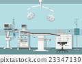 Illustration of a operating room 23347139