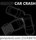 white stripes group car crash 23348879