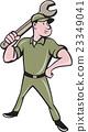 mechanic, spanner, wrench 23349041