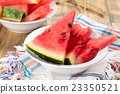 Sliced watermelon. 23350521