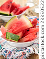 Sliced watermelon. 23350522