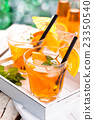 Orange lemonade. 23350540