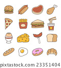 Food. Hand Drawn Doodle Icon. 23351404