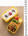 日式便當 配菜 水稻 23356495