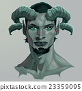 Portrait of a faun 23359095