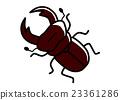 鍬形蟲 鋤頭形頭盔 蟲子 23361286