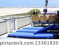 seashore, relax chair, resorts 23361830