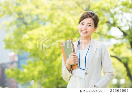 비즈니스 여성 (신록) 23363692