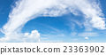 Vibrant color panoramic sky. 23363902