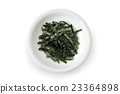 shredded nori, white background, seaweed 23364898