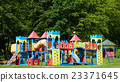 Playground equipment in the park 23371645