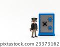 coffer, security guard, safe 23373162