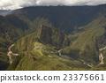 Ruins of Machu Picchu and Wayna Picchu in Peru 23375661
