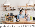 Modern cafe business 23375970