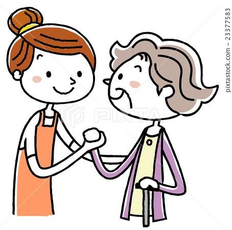 nursing, senior, helper 23377583