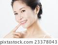 牙齿 齿轮 女性 23378043