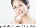 牙齿 齿轮 女性 23378044