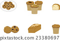 Baked confectionery set 23380697
