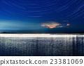 夜景 夜空 星星 23381069
