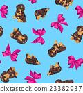 臘腸犬 彩帶 緞帶 23382937